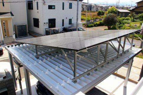 太陽光で発電しながら暮らしを楽しむ家