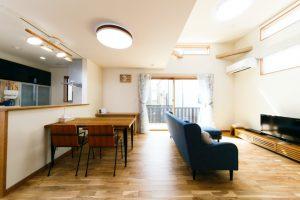 【〜空間にメリハリを生むスキップフロアのある家〜(前編) 施工事例:Iさま邸】