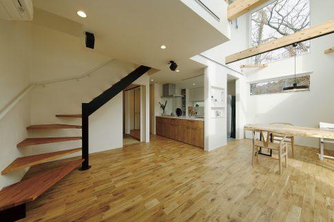 広々としたリビングで理想の暮らしができる家